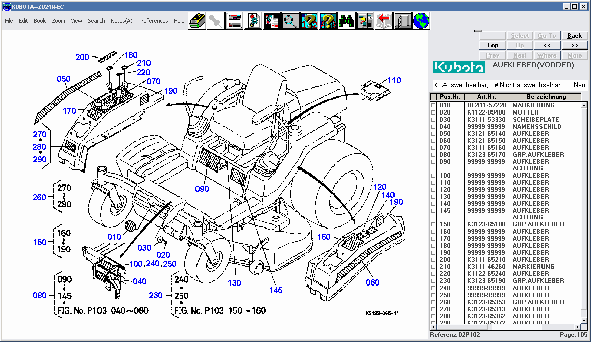 kubota wiring diagram service manual download free software kubota zd326 service manual ...